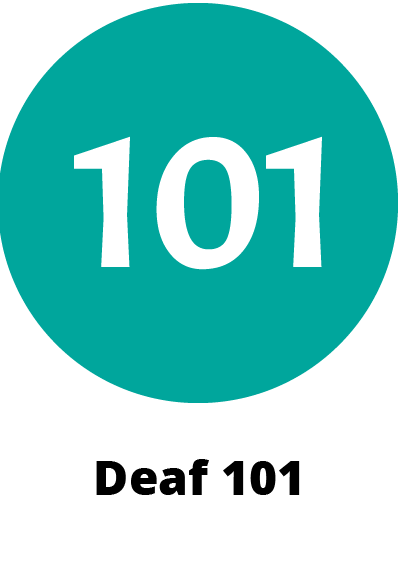 circular green icon symbol showing the numbers 101