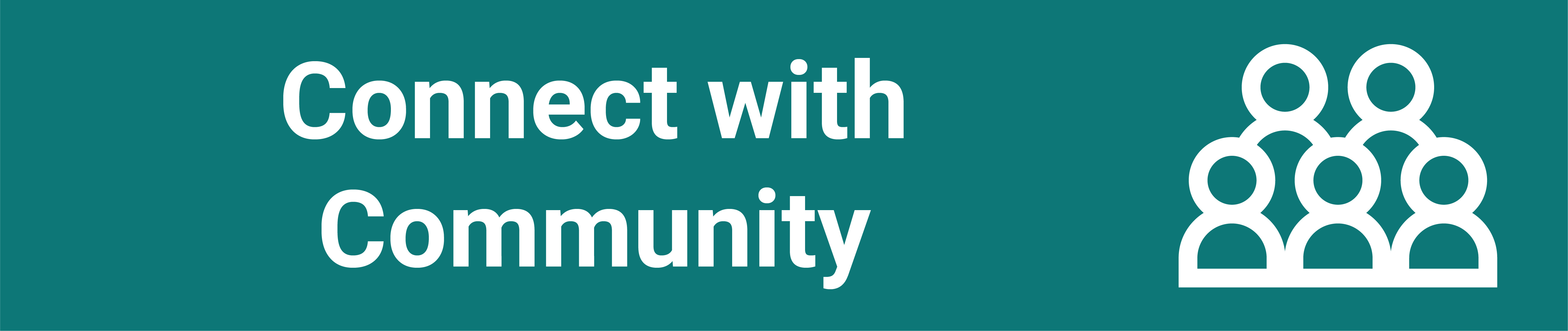 connect with community