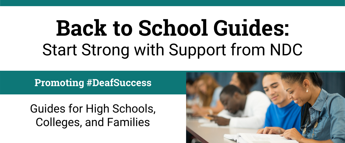 back to schools guide - start strong with NDC