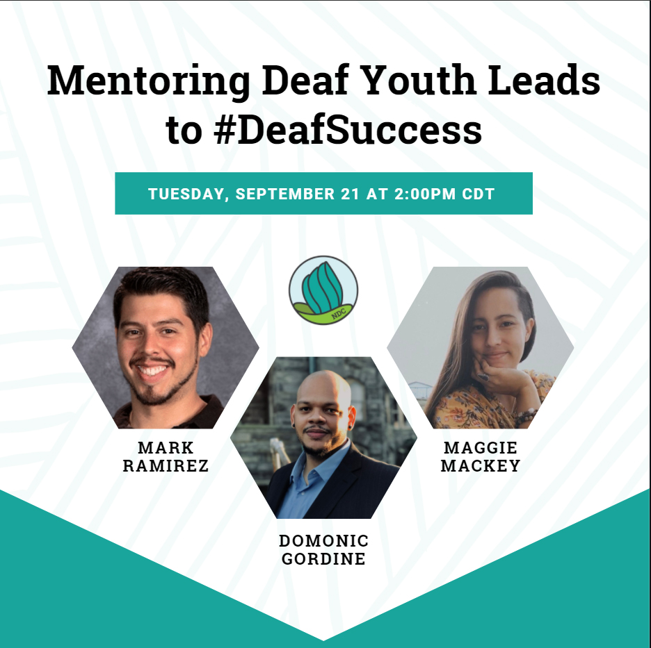 mentoring deaf youth leads to success