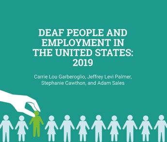 Deaf people and employment, labor force participation, deaf jobs
