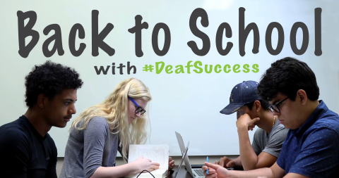 back to school advice for deaf high school students